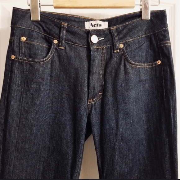 Acne Hex DC Straight Jeans